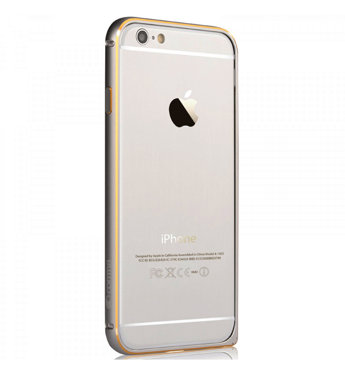 comma aluminum bumper for iphone 6 silver price. Black Bedroom Furniture Sets. Home Design Ideas