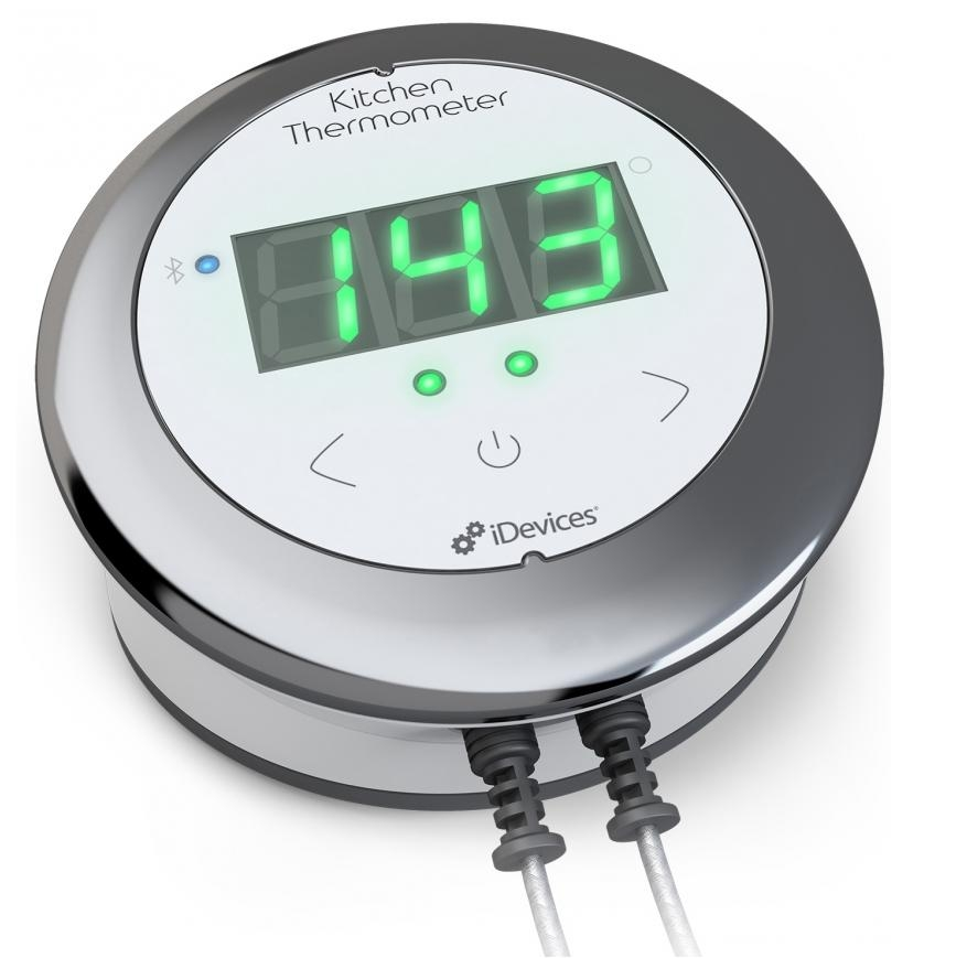 iDevices Kitchen Thermometer Connected for iOS and Android (white ...