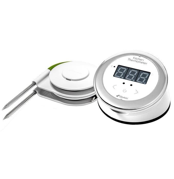 iDevices Kitchen Thermometer Connected for iOS and Android (white)