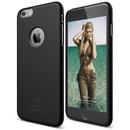 Elago S6P Slim Fit Case + HD Clear Film - качествен кейс и HD покритие за iPhone 6 Plus (черен)