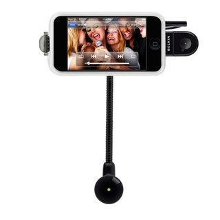 Belkin TuneBase Direct AUX с хендс-фрий (Hands-Free) за iPhone и iPod
