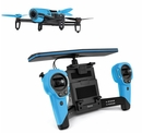 Parrot Bebop Drone Skycontroller amplified Wi-Fi 36 dBm radio for iOS and Android (blue)
