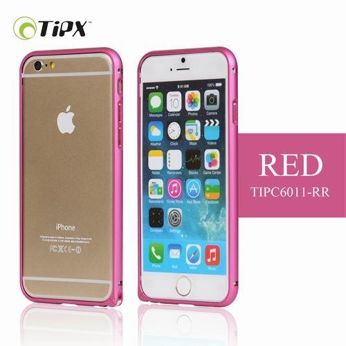 TIPX Aluminum Bumper - алуминиев бъмпер за iPhone 6 (червен)