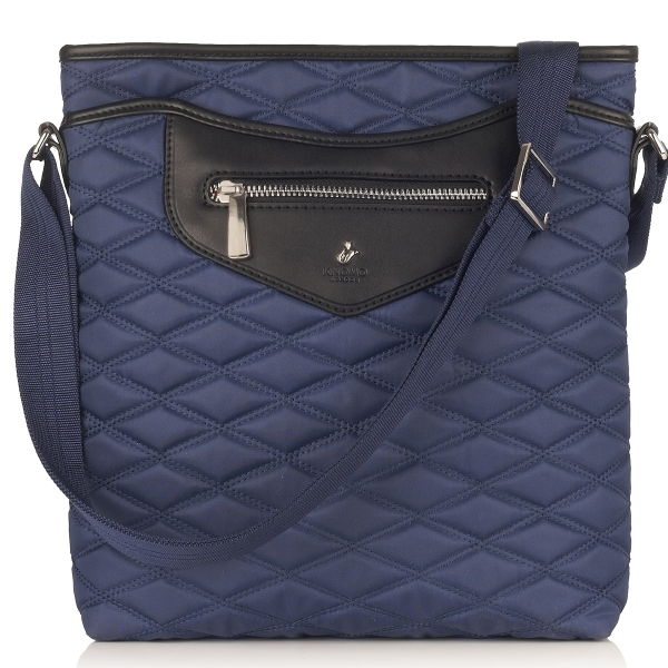 Knomo Maple Cross Body Bag for iPad and tablets up to 10.2 in. (marine)