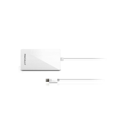 Macally 3-in-1 Mini-DisplayPort към DVI/HDMI/VGA Adapter