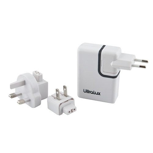 Ultralux Universal World Travel 4USB 2A Charger