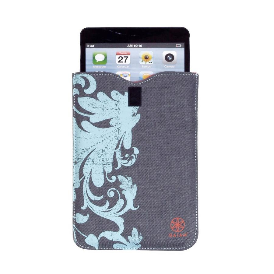 Gaiam Simple Sleeve Filigree - кожен калъф (тип джоб) за iPad mini, iPad mini 2, iPad mini 3