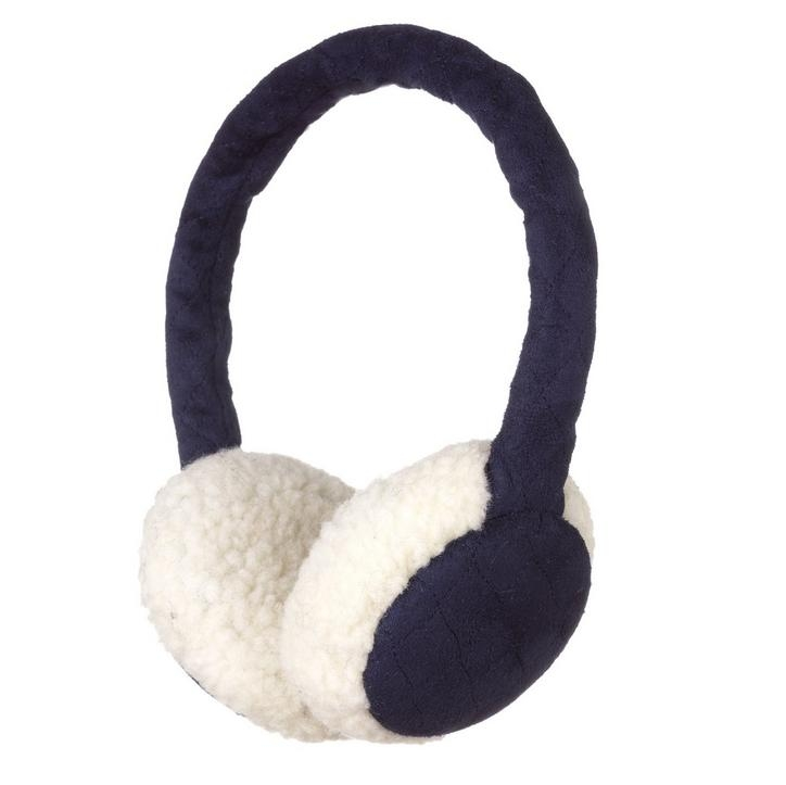 KitSound On-Ear Sheepskin Fur Audio Earmuffs for iPod, iPhone, Smartphone and MP3 Devices