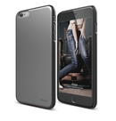 Elago S6P Slim Fit 2 Case + HD Clear Film - качествен кейс и HD покритие за iPhone 6 Plus, iPhone 6S Plus (сив)