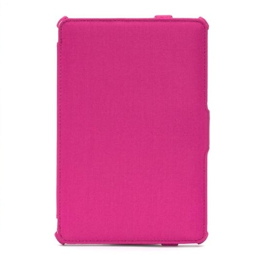 Griffin Journal Folio Case - текстилен калъф с поставка за iPad Mini, iPad mini 2, iPad mini 3 (розов)
