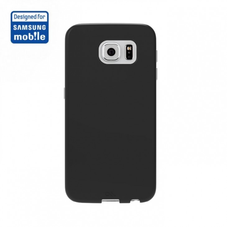 CaseMate Barely There - поликарбонатов кейс за Samsung Galaxy S6 (черен)