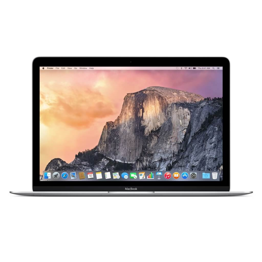 Apple MacBook 12 Dual Core Intel Core M 1.1GHz /256GB SSD / 8GB / Intel Graphics 5300 (сребрист)
