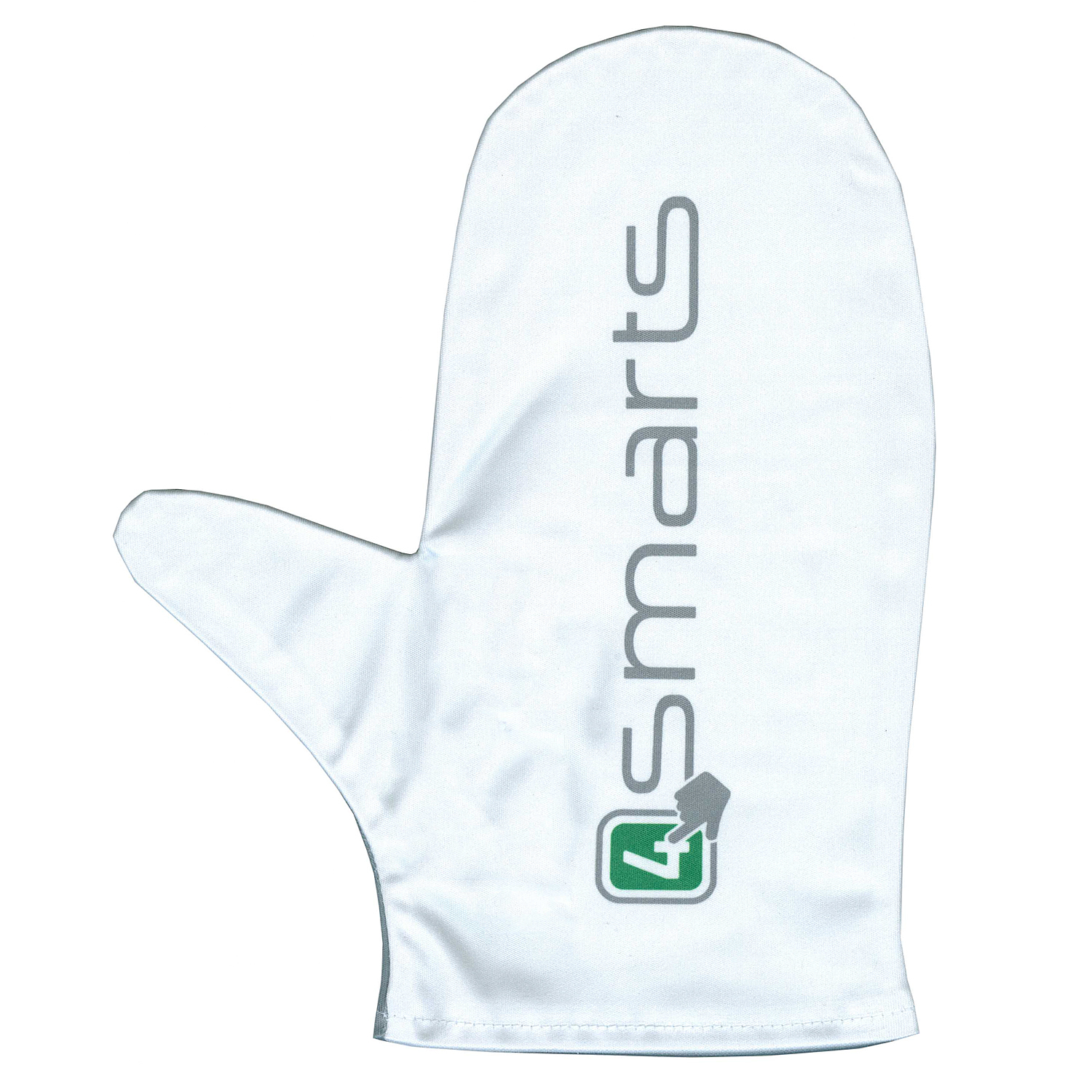 4smarts Microfiber Cleaning Glove (white-grey)