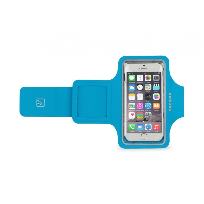 Tucano Ultraslim Armband for smartphone up to 5 inch - Blue [SARM47-Z]