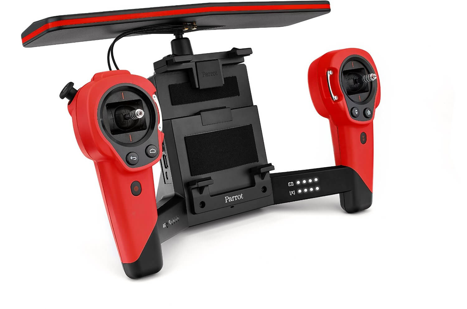 parrot skycontroller for bebop drone amplified wi fi 36 dbm radio for ios and android red. Black Bedroom Furniture Sets. Home Design Ideas