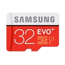 Samsung MicroSDHC 32GB EVO Plus UHS-I Memory Card with SD adapter