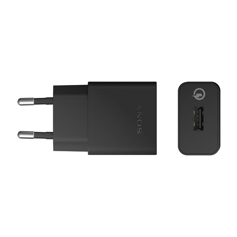 Sony Quick Charger UCH10 - захранване с USB изход и MicroUSB кабел за смартфони и таблети (ритейл опаковка)