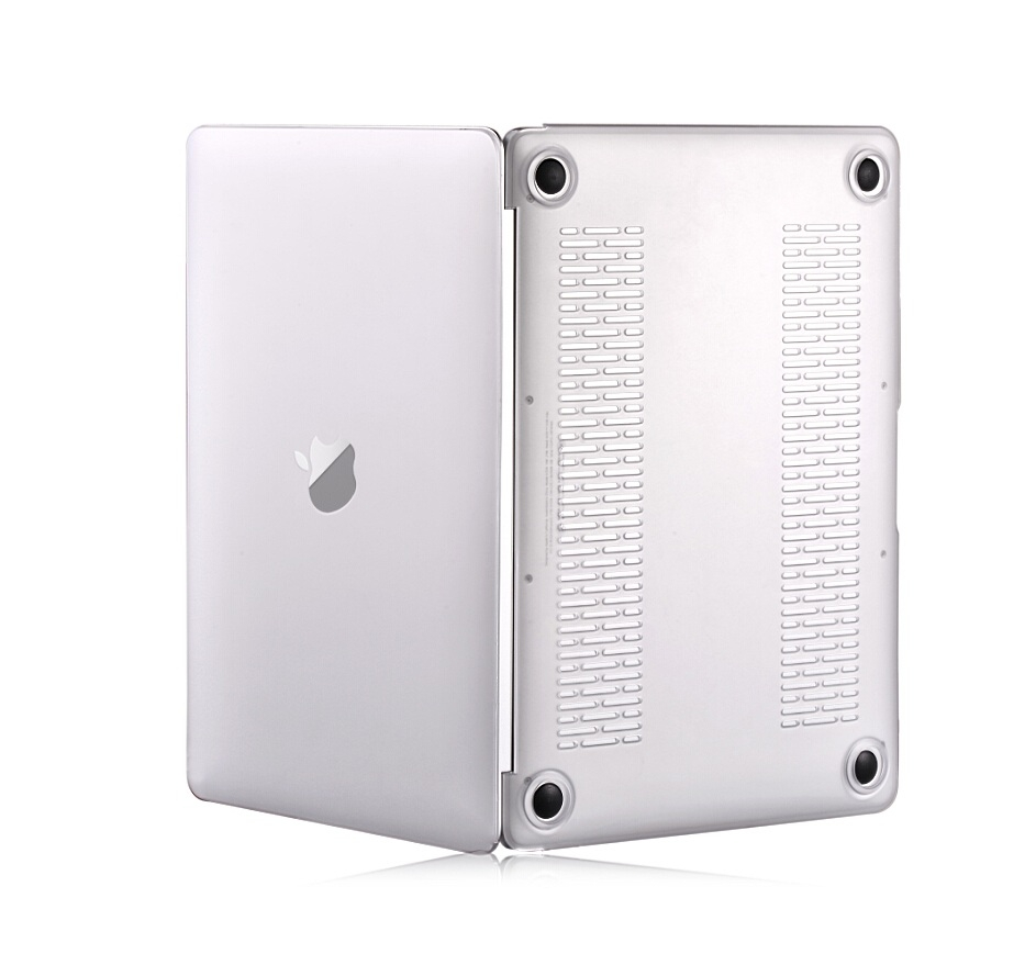 Comma Frosted Protective Full Shell Case - матиран предпазен кейс за MacBook 12 (прозрачен-мат)