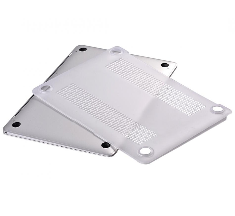 on sale 22e62 d4a8d Comma Frosted Protective Full Shell Case - матиран предпазен кейс за  MacBook 12 (прозрачен-мат)