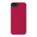 Incase Crystal Slider Case - поликарбонатов кейс за iPhone 5, iPhone 5S, iPhone SE (червен)
