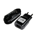 LG Travel Charger MCS-04ED 1800mA - захранване и microUSB кабел за LG устройства с microUSB (черен) (bulk)