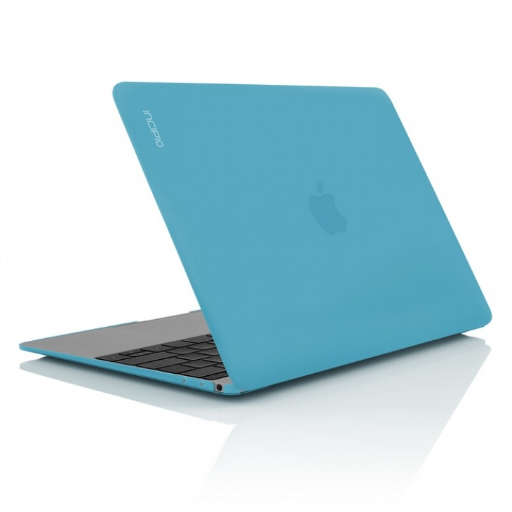 competitive price 3c73a d0089 Incipio Feather Cover Case - качествен предпазен кейс за MacBook 12 (син)