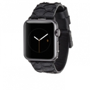 Casemate Scaled Leather Strap for Apple Watch 38mm (black) CM032787