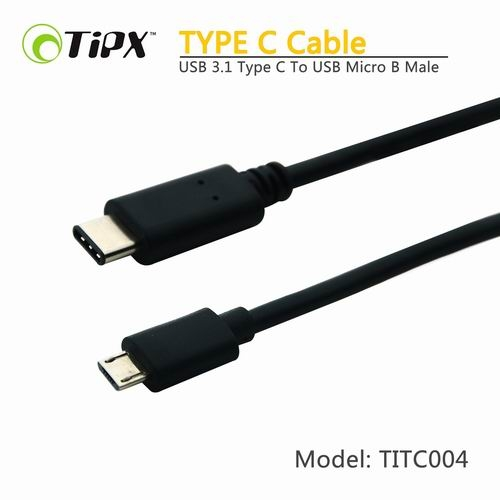 TIPX USB 3.1 Type C to USB Micro B Male