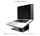 Elago L2 STAND - дизайнерска алуминиева поставка за MacBook и преносими компютри (черна)