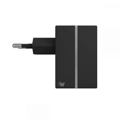 Just Wireless USB AC Charger for mobile devices (black)