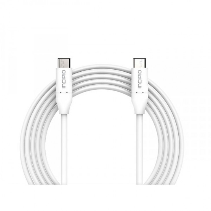 Incipio Charge/Sync USB-C to USB-C Cable USB 3.1 (1m, white) PW-251-WHT
