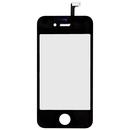 Тъч скрийн + дигитайзер за iPhone 4S (черен)