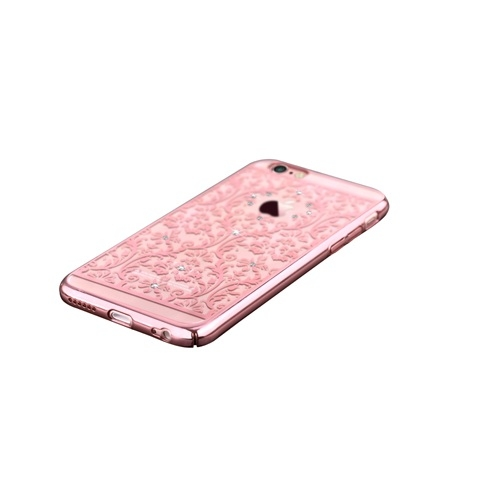 Devia Baroque Case With Swarovski Elements For IPhone 6 Plus 6S Rose