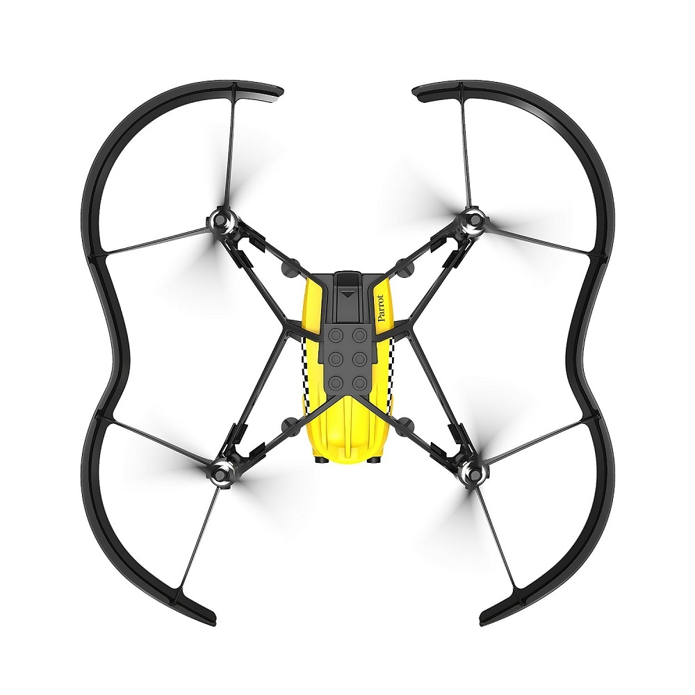 how to connect parrot mini drone to phone