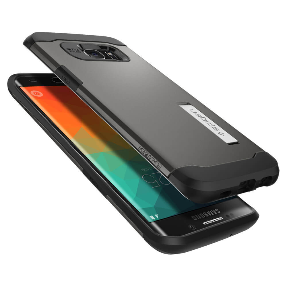 and spigen slim armor samsung galaxy s6 case gunmetal smartphone has