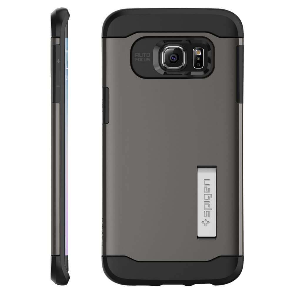 spigen slim armor samsung galaxy s6 case gunmetal will feel