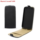 Leather Pocket Flip Case - ���������� ����� ����� � ���� �� Huawei Ascend Y600 (�����)