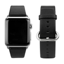 Caseual Leather Band for Apple Watch 38mm (black)