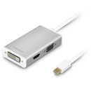 Macally 3-in-1 Mini-DisplayPort към DVI/HDMI/VGA 4K адаптер