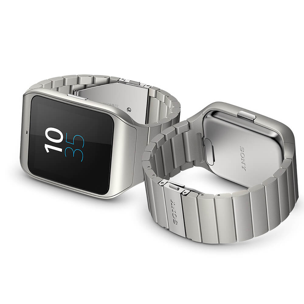 sony smartwatch 3 swr50 metal bluetooth watch for. Black Bedroom Furniture Sets. Home Design Ideas