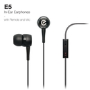 Elago E5 Sound Isolation In-Ear Earphones - слушалки с микрофон за iPhone, iPad, iPod и мобилни телефони (черни)