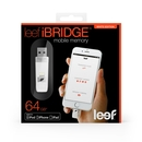 Leef iBRIDGE Mobile Memory 64GB - външна памет за iPhone, iPad, iPod с Lightning (64GB) (бял) 2