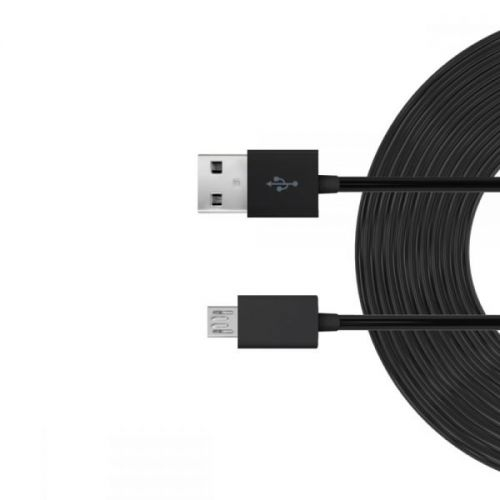 Just Wireless 3m Micro USB Charge and Sync Cable (300 cm) (black)