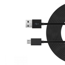 Just Wireless microUSB Charge and Sync Cable - кабел за устройства с microUSB порт (3 метра) (черен) 1