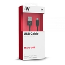 Just Wireless microUSB Charge and Sync Cable - кабел за устройства с microUSB порт (3 метра) (черен) 2