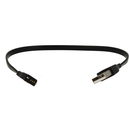 USB Charging Cable for Fitbit Charge, Force 30cm - захранващ USB кабел за Fitbit Charge, Force (черен)