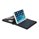 Kensington KeyFolio Executive Zipper Folio Case with Removable Bluetooth Keyboard for iPad Air, iPad 5 (2017), Air 2 and tablets