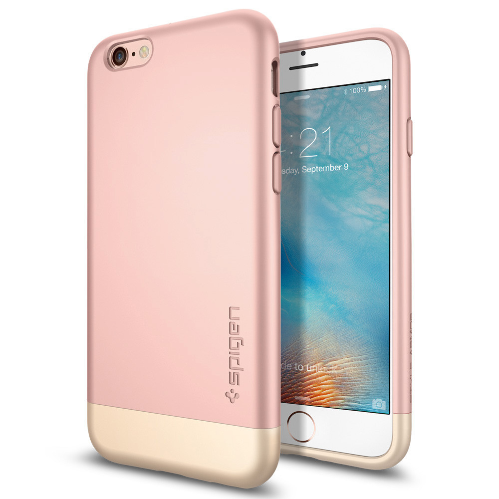 Spigen Style Armor Case For IPhone 6 6S Rose Gold
