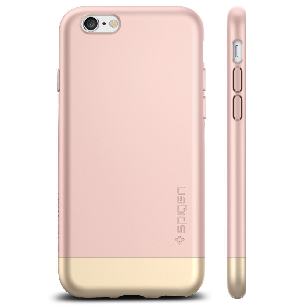 Spigen Style Armor Case For IPhone 6 6S Rose Gold 2