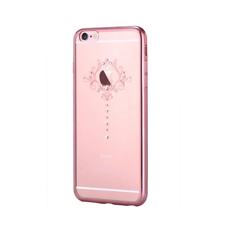 Devia Crystal Iris Case With Swarovski Elements For IPhone 6 6S Rose Gold